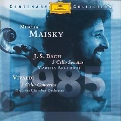 Bach 3 Cello Sonatas, Vivaldi 2 Cello Concertos CD1