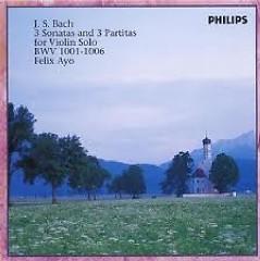 The Sonatas And Partitas For Solo Violin - Felix Ayo Disc 1