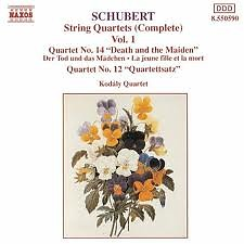 Schubert Complete String Quartets Vol.1