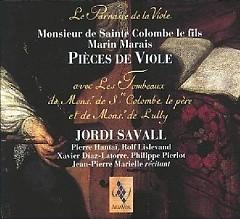 Monsieur Sainte Colombes De Fils & Marin Marais - Pieces De Viole CD1