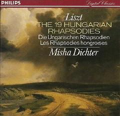 Liszt:The 19 Hungarian Rhapsodies CD 2 - Misha Dichter