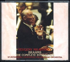 Brahms Complete Symphonies CD1 - Yevgeny Mravinsky,Leningrad Philharmonic Orchestra