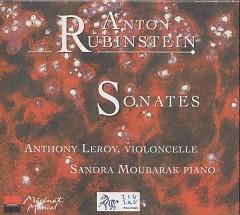 Anton Rubinstein Sonatas For Violoncello And Piano