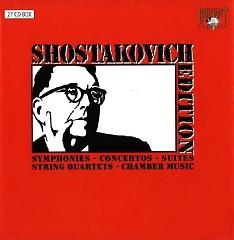 Shostakovich - Edition CD16