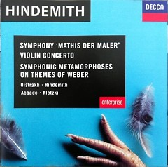 Hindemith - Mathis Der Maler; Violin Concerto; Symphonic Metamorphoses On Themes Of Weber