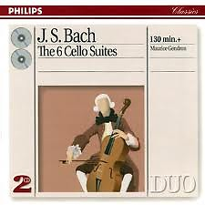 Bach The 6 Cello Suites Disc 1 - Maurice Gendron