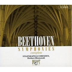Beethoven Symphonies Disc 2 - Herbert Blomstedt,Dresden Staatskapelle Orchestra