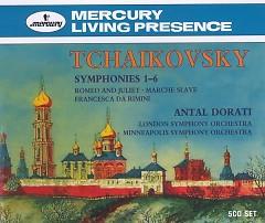 Tchaikovsky 6 Symphonies CD 4