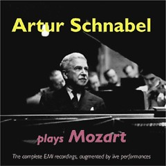 Artur Schnabel Plays Mozart CD 4