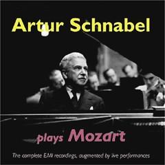 Artur Schnabel Plays Mozart CD 1