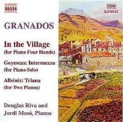 The Piano Music Of Granados Vol 10 No. 1
