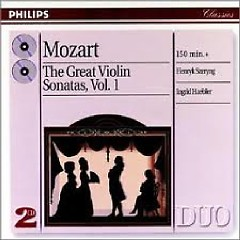 Mozart - The Great Violin Sonatas CD 1 - Ingrid Haebler,Henryk Szeryng