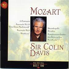 RCA Best 100 CD9 - Mozart Eine Kleine Nachtmusik & 3 Overtures