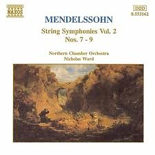 Mendelssohn String Symphonies Vol.2 CD 4