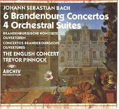 6 Brandenburg Concertos - 4 Orchestral Suites CD 1