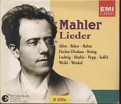 Mahler Lieder CD 1 - Gustav Mahler,New Philharmonia Orchestra