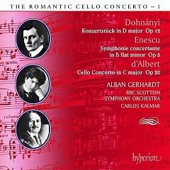 The Romantic Cello Concerto Vol 1