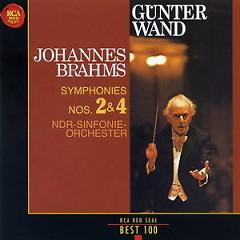 RCA Best 100 CD 53 Wand - Brahms Symphonies Nos 2 & 4