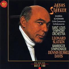RCA Best 100 CD 62 Dvorak Schumann Cello Concertos - Janos Starker,Bamberg Symphony Orchestra