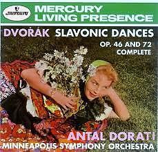 The Collector's Edition CD 10 Dorati/ Mso Dvorak - Slavonic Dances