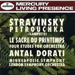 The Collector's Edition CD 13 Dorati Petrouchka/ Printemps