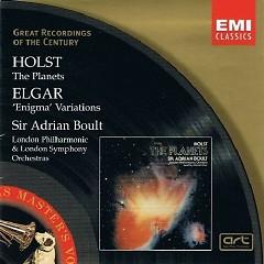 Elgar Enigma Variations Holst The Planets CD 2
