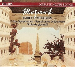 Complete Mozart Edition Vol 1 - Early Symphonies / Marriner CD 2