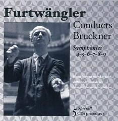 Furtwängler Conducts Bruckner - Symphonies Nos. 4 - 9 CD 3