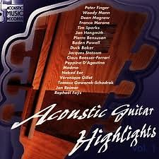 Acoustic Guitar Highlights Collection CD 1 No. 1