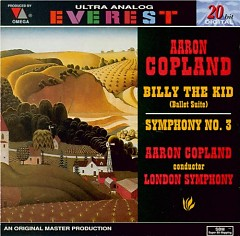 Copland - Symphony No.3, Billy The Kid - Aaron Copland,London Symphony Orchestra