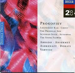 Prokofiev Lieutenant Kijé CD 2