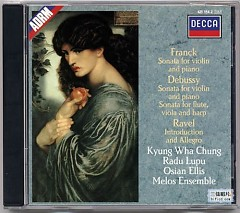 Frank Debussy Ravel - Kyung-wha Chung,Radu Lupu,Osian Ellis