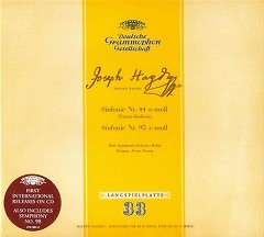 Haydn - Symphonies Nos. 44, 95 & 98 - Ferenc Fricsay,Berlin Philharmonic Orchestra