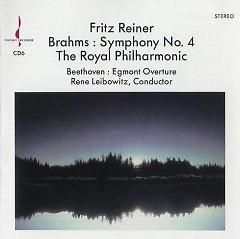 Brahms - Symphony No. 4, Beethoven - Egmont Overture