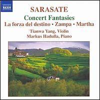 Sarasate - Concert Fantasies - Tianwa Yang