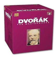 Antonin Dvorak The Masterworks Vol II Part I - Piano Quintets CD 17
