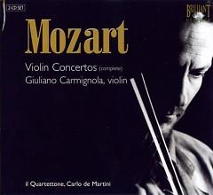 Mozart - Complete Violin Concertos CD 1 - G.Carmignola