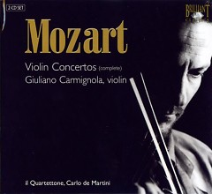 Mozart - Complete Violin Concertos CD 2 - G.Carmignola
