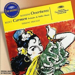 Rossini Overtures And Bizet Carmen Suite  - Ferenc Fricsay