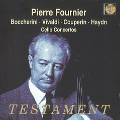 Boccherini Vivaldi Couperin Haydn Debussy Stravinsky Cello Works CD 2 - Tahra - Pierre Fournier