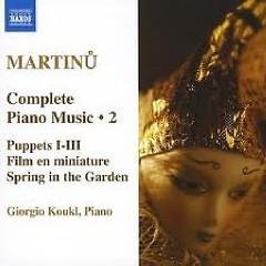Bohuslav Martinu Complete Piano Music CD 2 No. 1