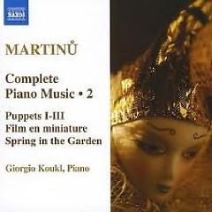 Bohuslav Martinu Complete Piano Music CD 2 No. 2
