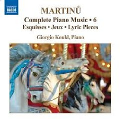Bohuslav Martinu Complete Piano Music CD 6 No. 1