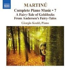 Bohuslav Martinu Complete Piano Music CD 7 No. 1