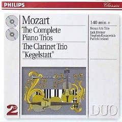 Mozart - The Complete Piano Trios & The Clarinet Trio  Kegelstatt  CD 2