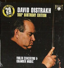 David Oistrakh 100th Birthday Edition CD 12