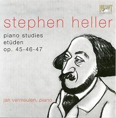Heller - Etudes, Op. 45, 46 & 47 CD 1 - Jan Vermeulen