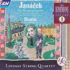 Janacek - The Two String Quartets, Dvorak - Cypresses CD 2 - Lindsay String Quartet