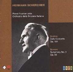 Dvorak Cello Concerto, Brahms Symphony No. 3 - Pierre Fournier