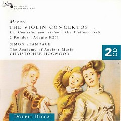 Mozart - The Violin Concertos CD 1